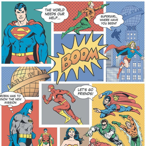 Super Hero Comic strips