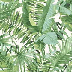 Baja Green Jungle Tropical Leaf