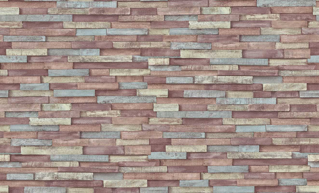Imitation textured Wood Wallpaper