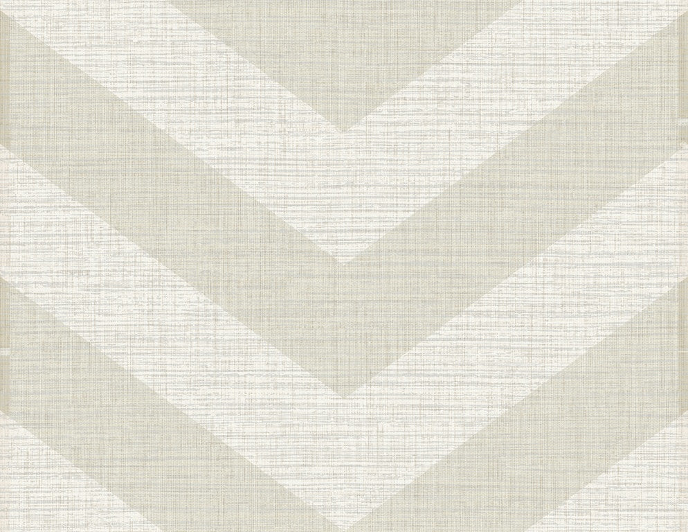 Grass Effects Cheveron Linen Faux Grasscloth