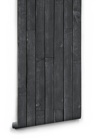 Black Wooden Boards