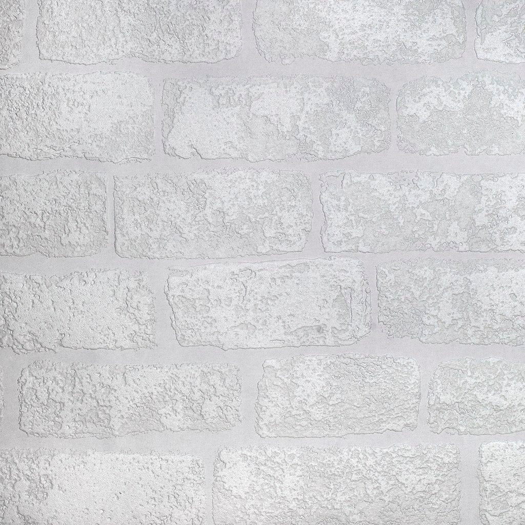 Lincoln Brick Paintable Wallpaper