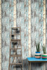 Recycled Blues & White Peeling Timber