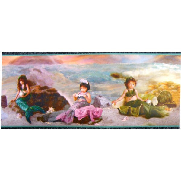 Girls Mermaids & Fairies Border