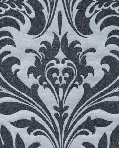 Beaded Damask Wallpaper