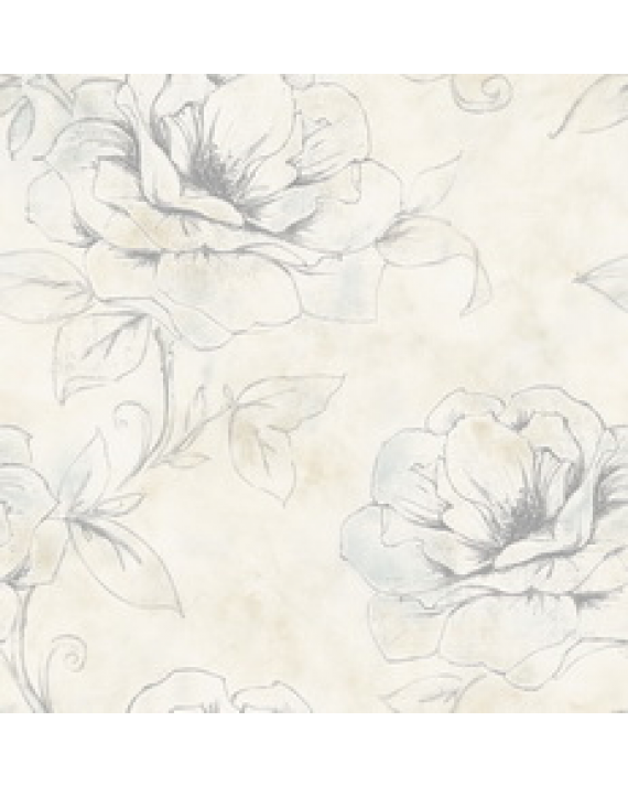Contemporary Sketched Floral Flowers