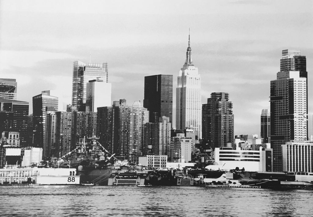 Contemporary Black and White New York Photographic Border