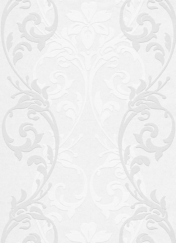 Paintable Floral Damask