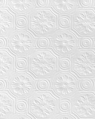 Spencer Embossed Tiled Floral