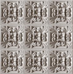 3D Ornamental wallpaper