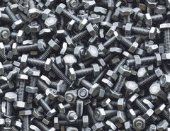 3D Industrial design Nuts Bolts