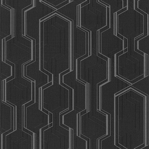 Modern Geometric Textured Wallpaper