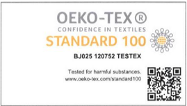 silk thx oeko tex certification