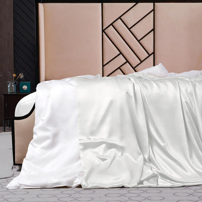 Silk Comforter w Silk Duvet Cover | Winter | 10 Colors