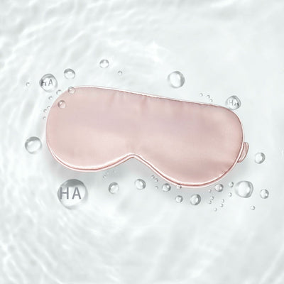 Aqua Series Silk Sleep Eye Mask | Hyaluronic Acid | 5 Colors
