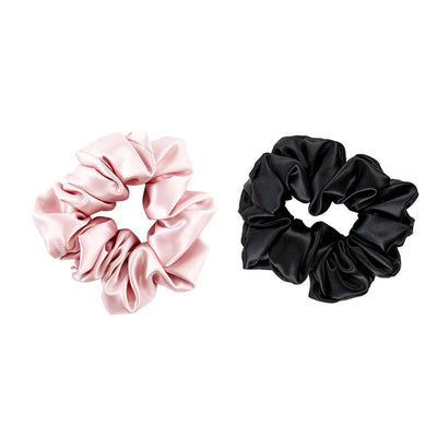 High end Silk Scrunchies Ponytail Band | Hair Accessories | Pack of 2