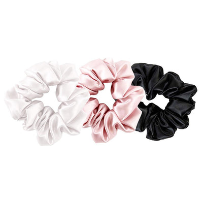High end Silk Scrunchies Ponytail Band | Hair Accessories | Pack of 3
