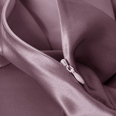 High end 19 Momme | Silk Bedding Sheet Set w pillowcases (4pcs) | 10 Colors