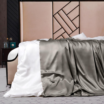 High End | Silk Comforter w Duvet Cover | Winter | 10 Colors