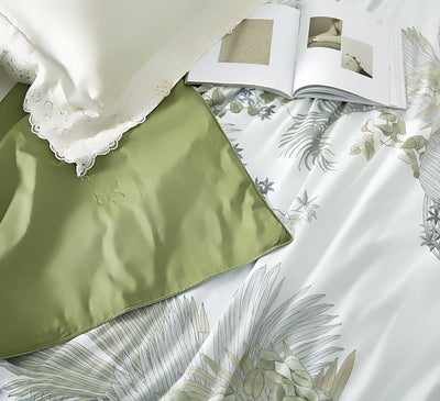 High end 19 Momme Mulberry Silk Pillowcase | King Size | Two-tone