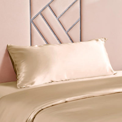 High End 19 Momme | Silk Body Pillowcase | Zipper Closure | 10 Colors