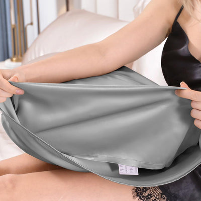 High End 19 Momme | Silk Pillowcase | Envelope Closure | 7 Colors
