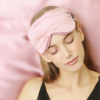 Luxury 22 Momme Silk Sleep Eye Mask | 10 Colors