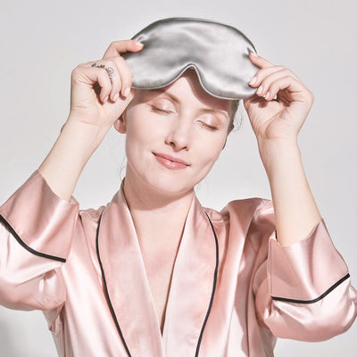 High end 19 Momme Silk Eye Mask Sleep Mask | Blindfold | 10 Colors