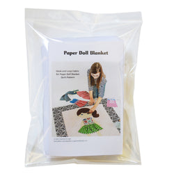 Paper Doll Blanket -  10 Pack of Loop Fabric for Underwear
