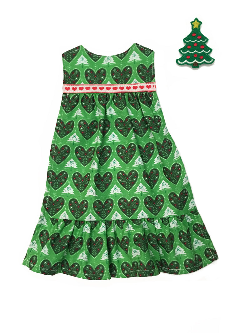 Outfit - Christmas Tree Dress – Paper Doll Blanket
