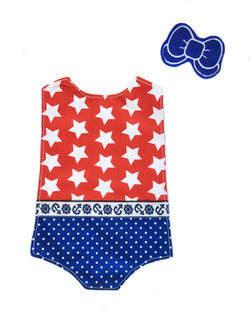 Outfit - Stars and Stripes Swimsuit
