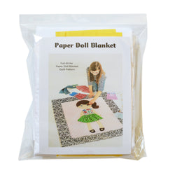 Paper Doll Blanket -  Full Kit for Pattern