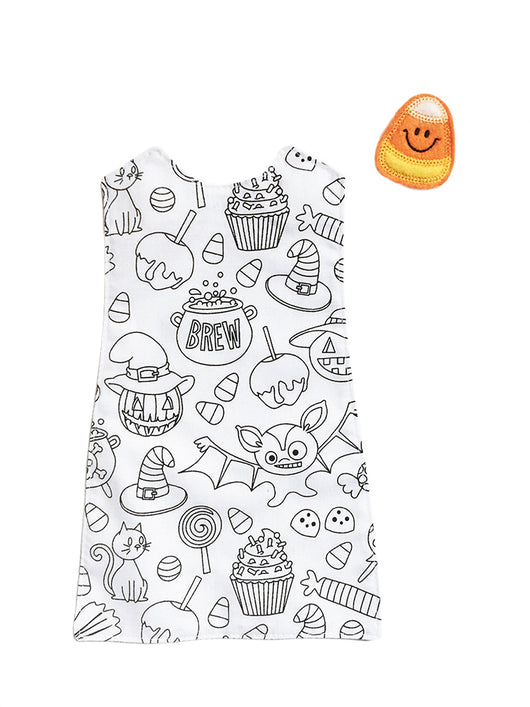 Outfit - Halloween Coloring Dress