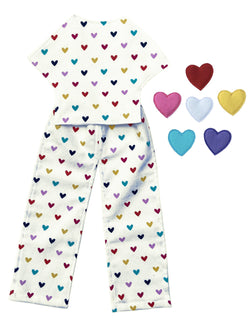 Outfit - Hearts Pajama