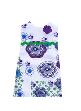 Outfit - Indigo Floral Dress