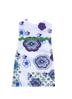Indigo Flower Dress