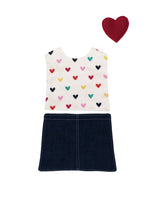 Outfit - Jeans n Hearts