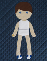 Paper Doll Blanket - Customize - Luke