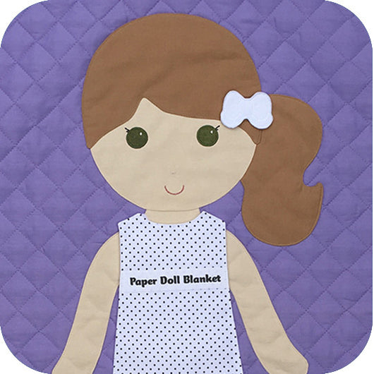 Paper Doll Blanket - Customize - Mary