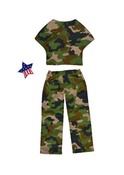 Military Camo Outfit