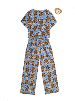 Outfit - Monkey Pajama