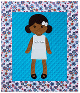 Paper Doll Blanket - Customize - Jillian