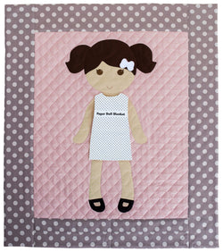 Paper Doll Blanket - Customize - Georgia