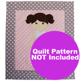 Paper Doll Blanket -  Kit for Pattern