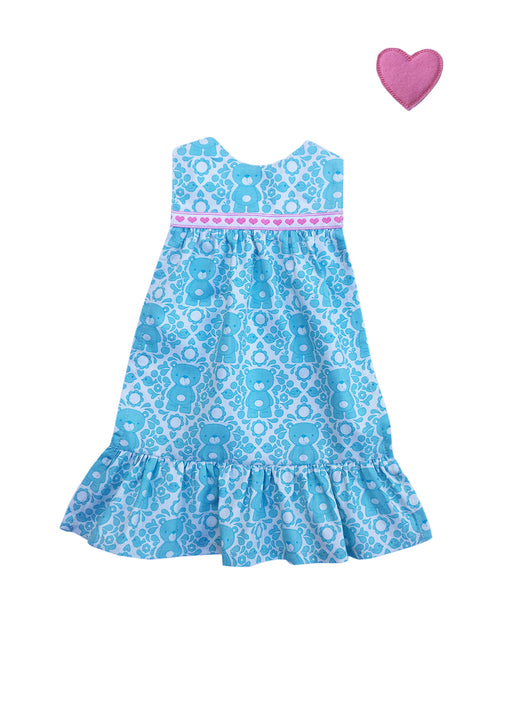 Outfit - Teddy Bear Heart Nightgown