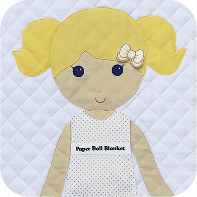 Paper Doll Blanket - Customize - Daisy