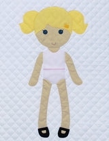Paper Doll Blanket - Customize - Limited Edition Daisy