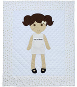 Paper Doll Blanket - Customize - Limited Edition Franny