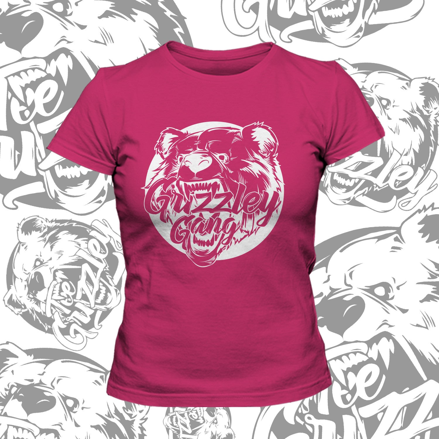 GRIZZLEY GANG T SHIRT- FEMALE