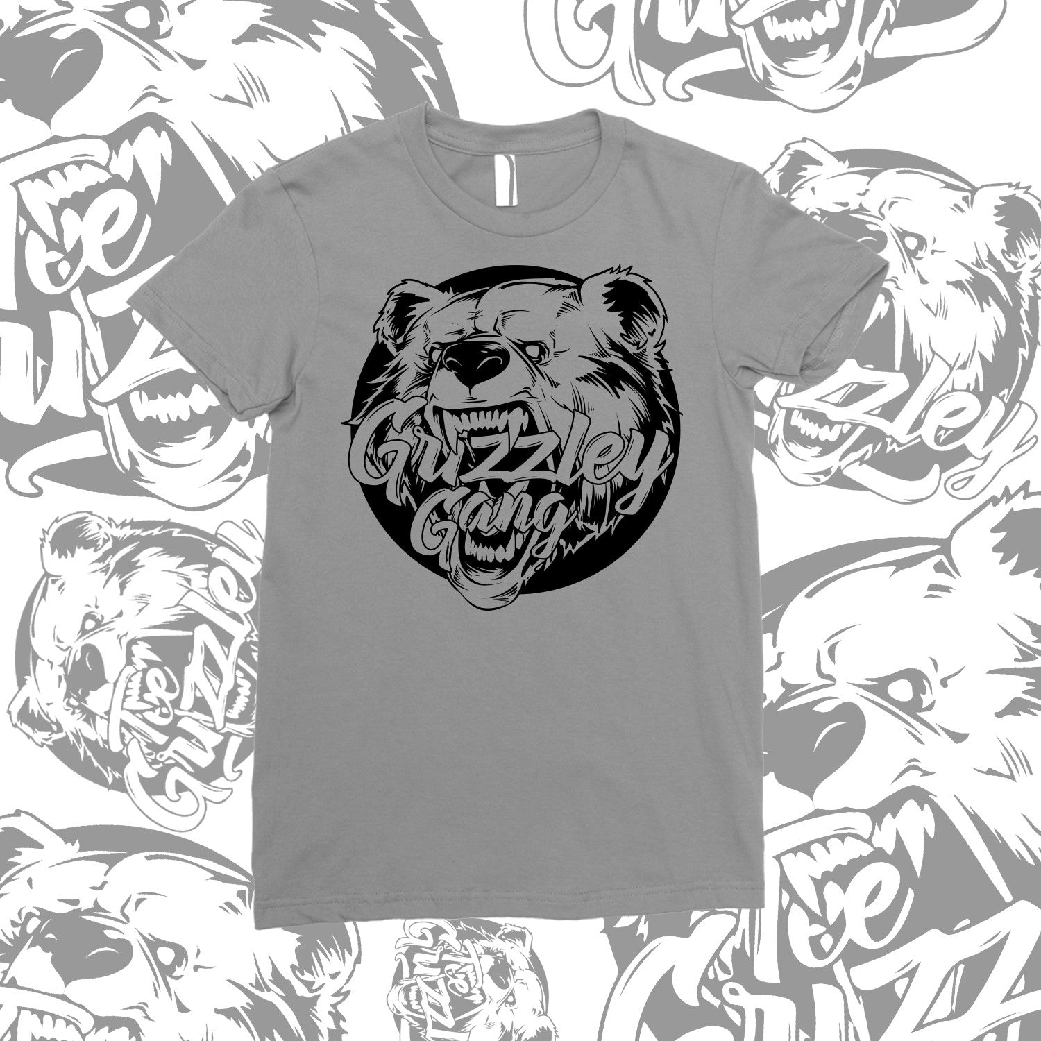 GRIZZLEY GANG T SHIRT- UNISEX